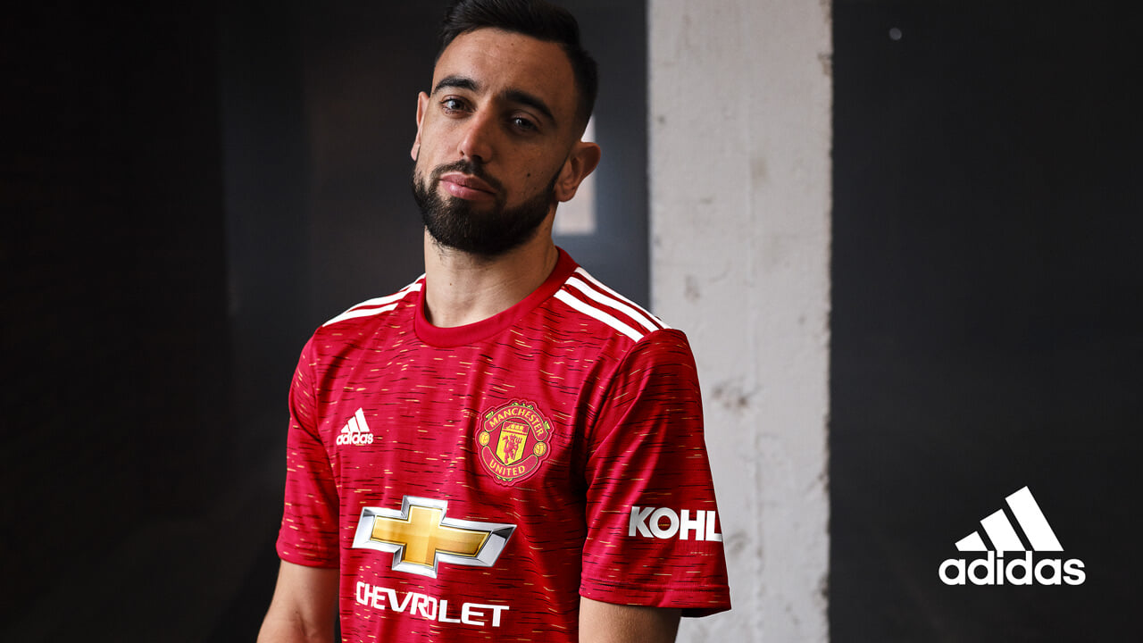 manchester united presented their home form for the 2020 21 season mu epl brandadidas 2020 21 season mu epl brandadidas