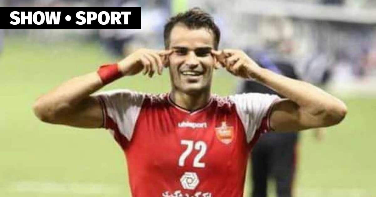 The Persepolis Forward Showed An Asian Eye Cut After Pakhtakor S Goal He Was Suspended For Six Months Pahtakor Afc Champions League