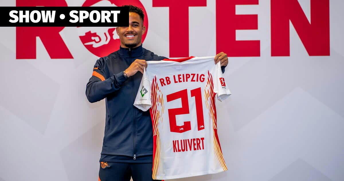 RB Leipzig leased Kluivert from Roma. Justin took the number 21 — roma,  bundesliga, seria-a